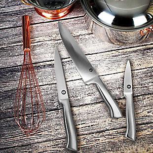 Ww Healthy Kitchen 3 Piece Stainless Steel Cutlery Knife Set, , rollover