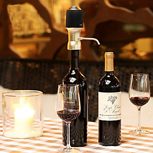 Megachef One-Touch Portable Luxury Wine Air Pressure Aerator, , rollover