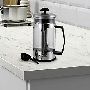 Mr. Coffee Daily Brew 1.2 Quart Coffee Press, , rollover