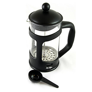 Mr. Coffee Brivio 28 Ounce Glass French Press Coffee Maker with Plastic Lid, , large