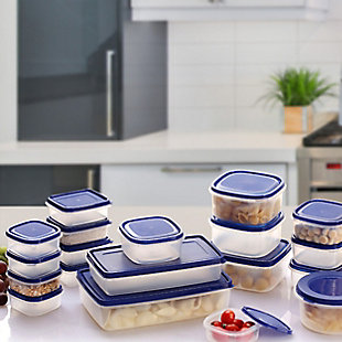 Better Chef 38-piece Plasticware Food Container Set, , rollover
