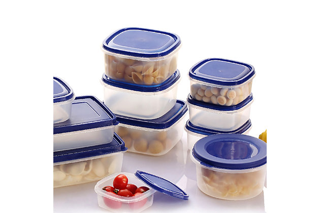 Better Chef 38-piece Plasticware Food Container Set, , large