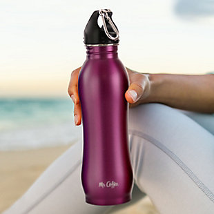 Mr. Coffee Luster Eclipse 23oz Stainless Steel Hydration Bottle in Assorted Colors, Set of 4, , rollover