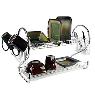 Better Chef 22-Inch Chrome Dish Rack, , rollover