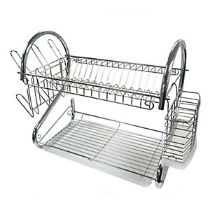 Better Chef 22-Inch Chrome Dish Rack, , large