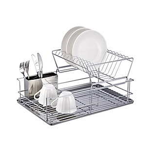"""Better Chef 4 Piece 18.5"""" Dish Drying Rack Set, , rollover"""