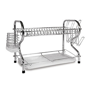 Better Chef 16-inch 2 Level Dish Rack, , large