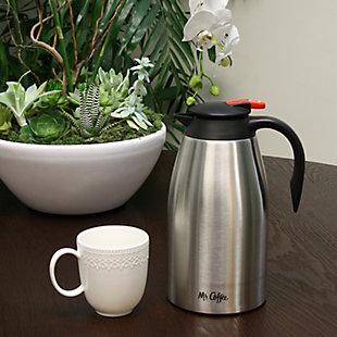 Mr. Coffee Galion 2 Quart Polished Coffee Pot, , rollover