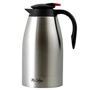 Mr. Coffee Galion 2 Quart Polished Coffee Pot, , large