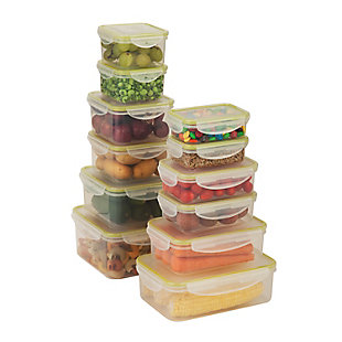 Honey-Can-Do 24pc Snap-Lock Food Storage, , rollover