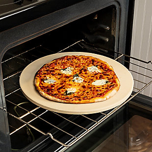 Honey-Can-Do Round Pizza Stone (16in x 15mm), , rollover