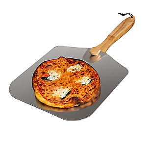 Honey-Can-Do 12x14-Inch Pizza Peel with Collapsible Wooden Handle, , large