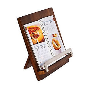 Honey-Can-Do Acacia Cookbook Holder, , large