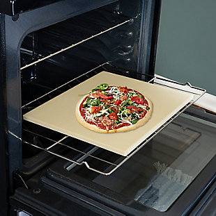 Honey-Can-Do 14x16-inch Rectangle Pizza Stone, , rollover