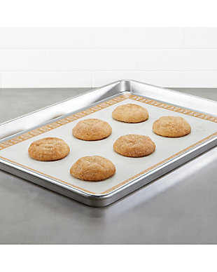 """Ayesha Curry Bakeware 2 Piece Set: 13"""" x 18"""" Sheet Pan, Heart Pattern, Copper, , rollover"""