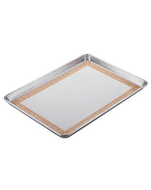 "Ayesha Curry Bakeware 2 Piece Set: 13"" x 18"" Sheet Pan, Heart Pattern, Copper, , large"