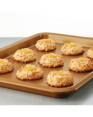 Ayesha Curry Bakeware 3-Piece Cookie Pan Set: 9 x 13, 10 x 15, 11 x 17 Cookie Pans, Copper, , rollover