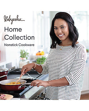 """Ayesha Curry Home Collection Cookware Sienna Red 11"""" Open Skillet, Sienna Red, large"""