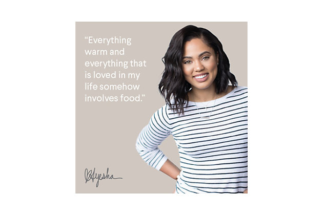 """Ayesha Curry Home Collection Cookware Twilight Teal 11.25"""" Deep Square Grill Pan, Twilight Teal, large"""