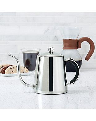 Bonjour 23.2 oz. Pour Over Teapot, Black Handle, , rollover