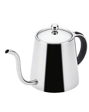 Bonjour 23.2 oz. Pour Over Teapot, Black Handle, , large