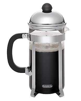 Bonjour Coffee 12-Cup Monet Stainless Steel French Press, , large