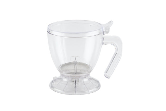 Bonjour Coffee 19.5-Ounce Smart Brewer, Clear, large