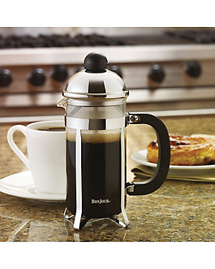 Bonjour Coffee 3-Cup Monet Stainless Steel French Press, , rollover