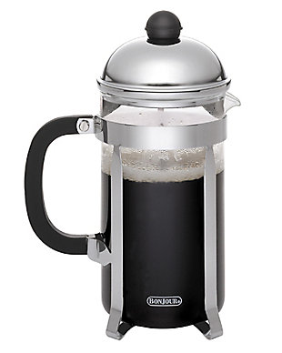 Bonjour Coffee 3-Cup Monet Stainless Steel French Press, , large