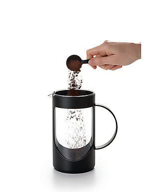 Bonjour Coffee 8-Cup Ami-Matin Unbreakable French Press (BPA Free) Noir Black, , large
