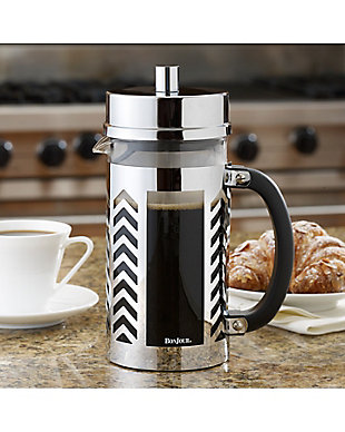 Bonjour Coffee 8-Cup Chevron French Press, , rollover