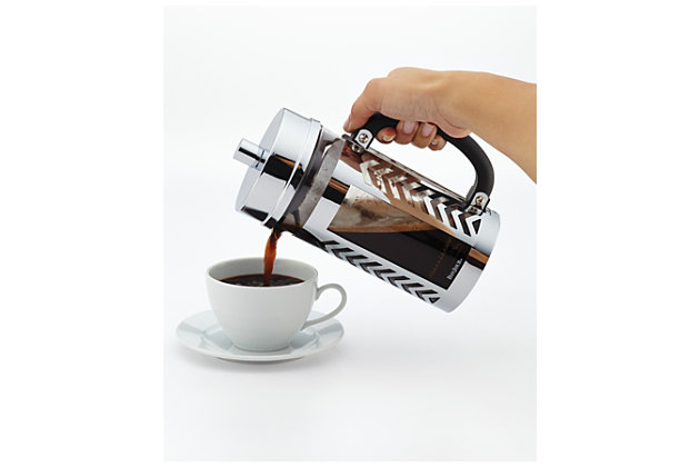 Bonjour Coffee 8-Cup Chevron French Press, , large