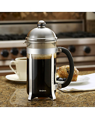 Bonjour Coffee 8-Cup Maximus French Press (Brushed Stainless Steel Finish), , rollover