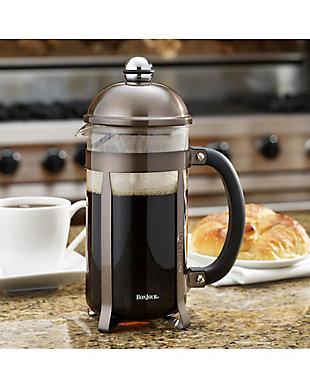 Bonjour Coffee 8-Cup Maximus French Press, Truffel, Truffel, rollover