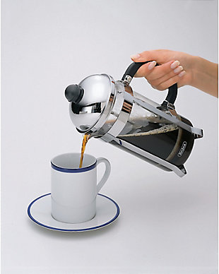 Bonjour Coffee 8-Cup Monet Stainless Steel French Press, , rollover