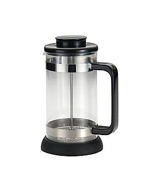 Bonjour Coffee 8-Cup Riviera French Press w/ Coaster, Black, , large