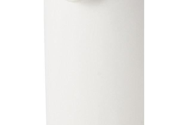 Bonjour Wayfarer Ceramic Collection Sugar & Creamer Set, Matte White, Matte White, large