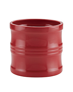 "Circulon Ceramics Solutions 7.5"" Tool Crock, Red, Red, rollover"