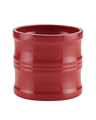 """Circulon Ceramics Solutions 7.5"""" Tool Crock, Red, Red, large"""