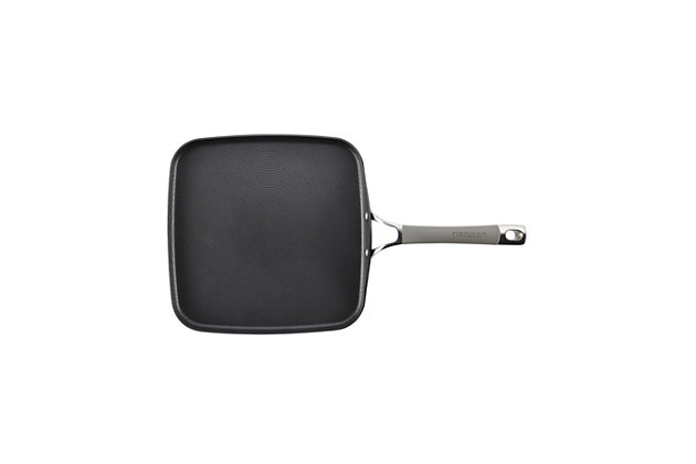Circulon Elementum Hard Anodized 11-Inch Square Griddle, , large