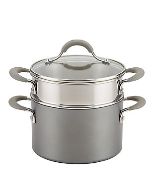 Circulon Elementum Hard Anodized 3 Qt. Stack and Steam, , large