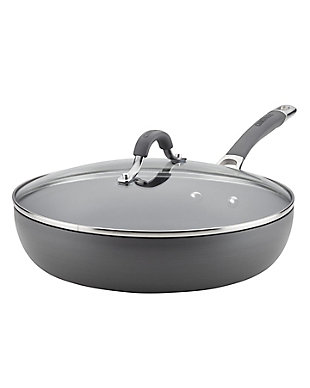"""Circulon Radiance 12"""" Covered Deep Skillet, , rollover"""