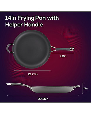 """Circulon Radiance 14"""" Open Frying Pan w/HH, , rollover"""