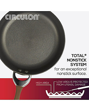 Circulon Symmetry Chocolate 4 Piece Weeknight Set, Chocolate/Black, large