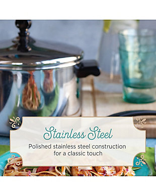 Farberware Classic Stainless Steel 4-Quart Covered Saucepot, , rollover