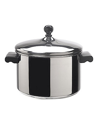 Farberware Classic Stainless Steel 4-Quart Covered Saucepot, , large