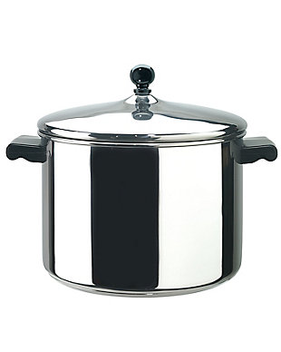 Farberware Classic Stainless Steel 8-Quart Covered Stockpot, , large