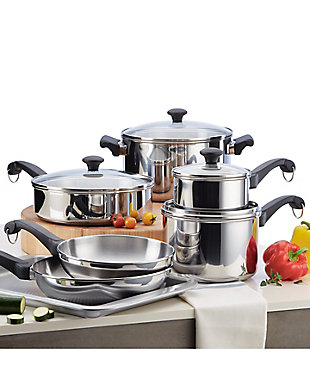 Farberware Classic Traditions Stainless Steel 12 Piece Set, , rollover