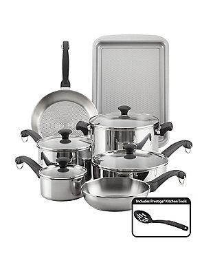 Farberware Classic Traditions Stainless Steel 12 Piece Set, , large