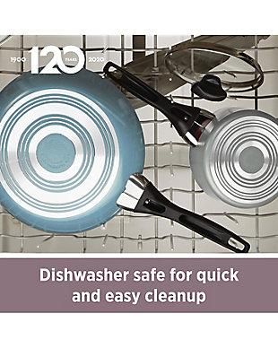 Farberware Dishwasher Safe Aluminum Nonstick 15-Piece Cookware Set, Aqua, Aqua, large